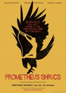 Prometheus Shrugs Poster